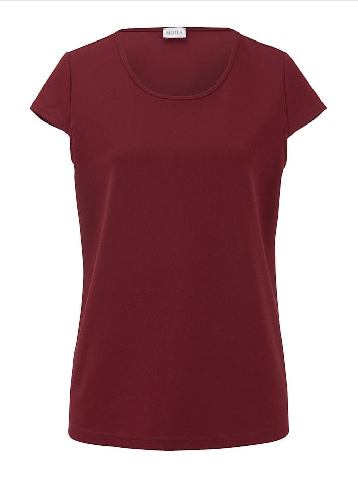 Shirt in elastischer Ware