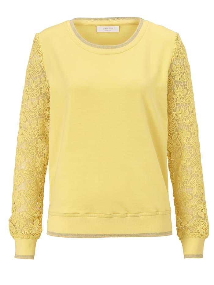 SIENNA Sweatshirt, Gelb