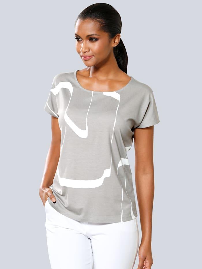 Tričko s celoplošným grafickým potiskem