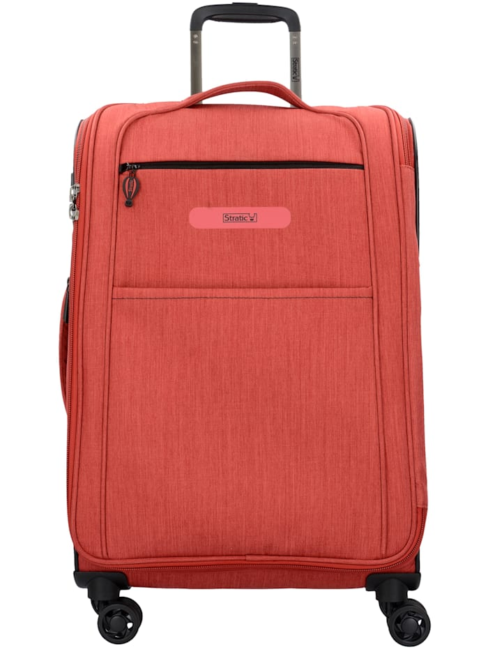 Stratic Floating M 4-Rollen Trolley 68 cm, red