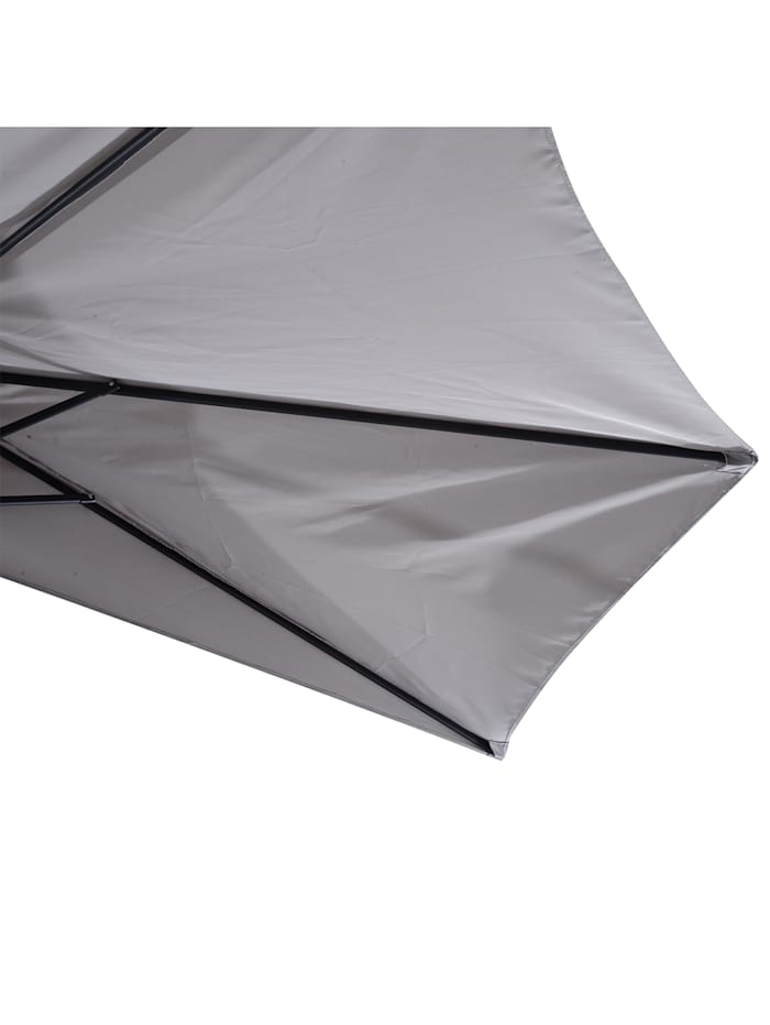 Sonnenschirm mit Handkurbel