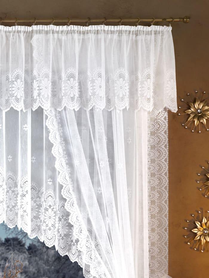 Home Wohnideen Voilage jacquard, blanc