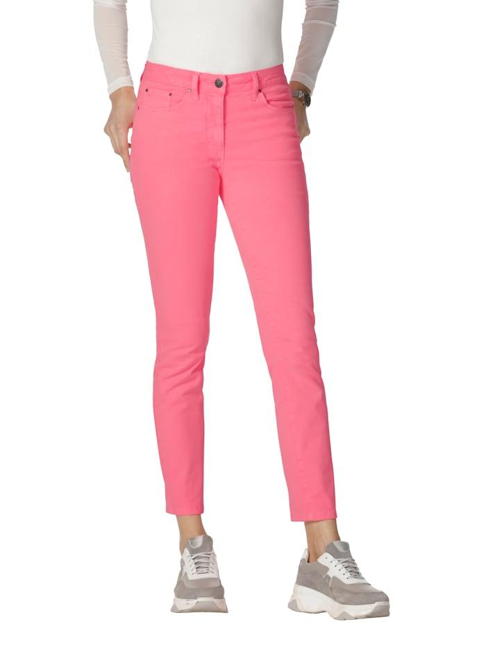 AMY VERMONT Jeans mit Push-Up-Effekt, Neonpink