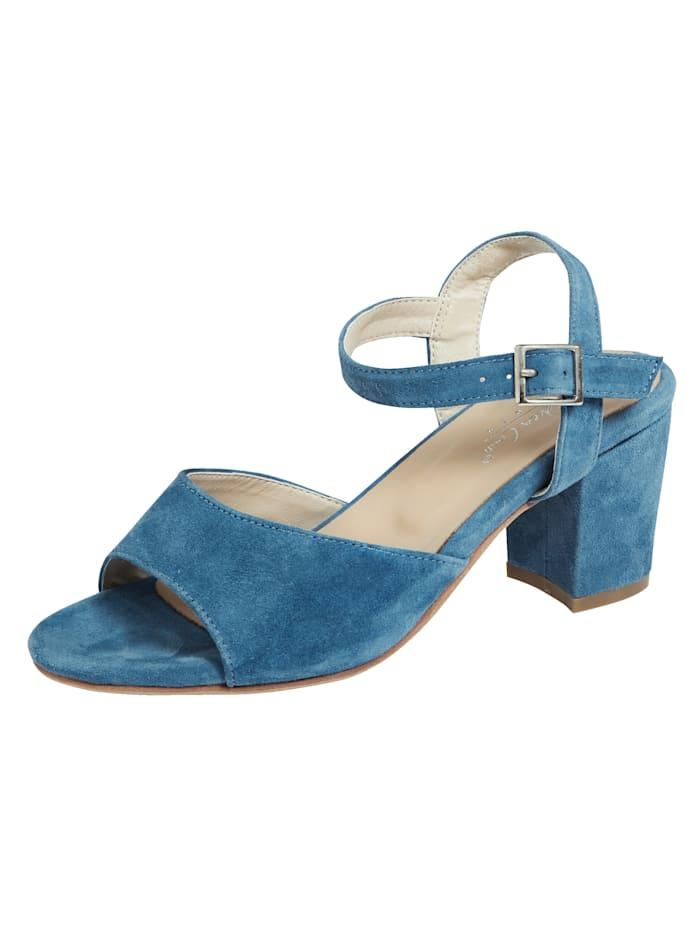 KLiNGEL Sandale in modischer Optik, Hellblau