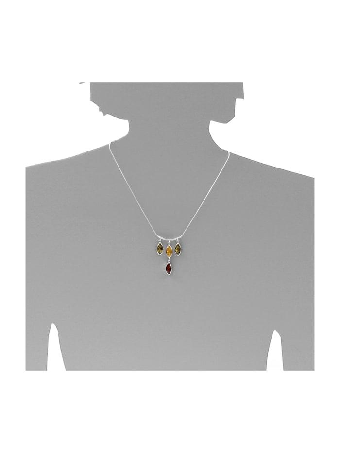 Collier - Tadira - Silber 925/000 - Bernstein