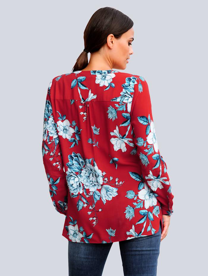 Bluse im Alba Moda exklusiven Dessin