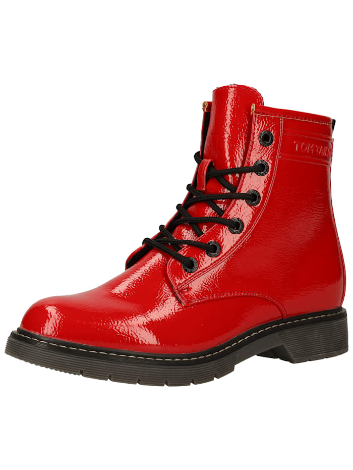 Tom Tailor Tom Tailor Stiefelette, Rot
