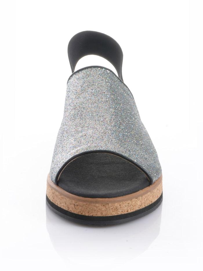Sandalette in Peeptoe-Form