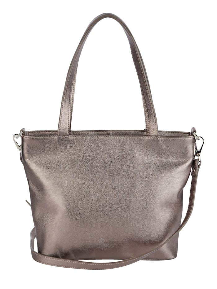 Handväska som kan bäras på två sätt