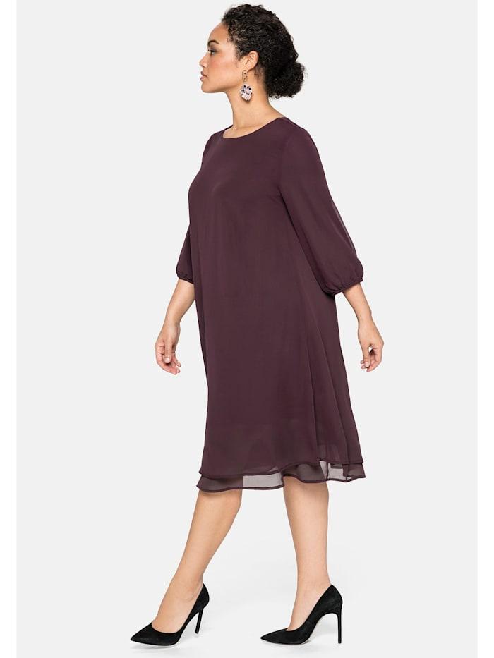 Kleid in Lagen-Optik