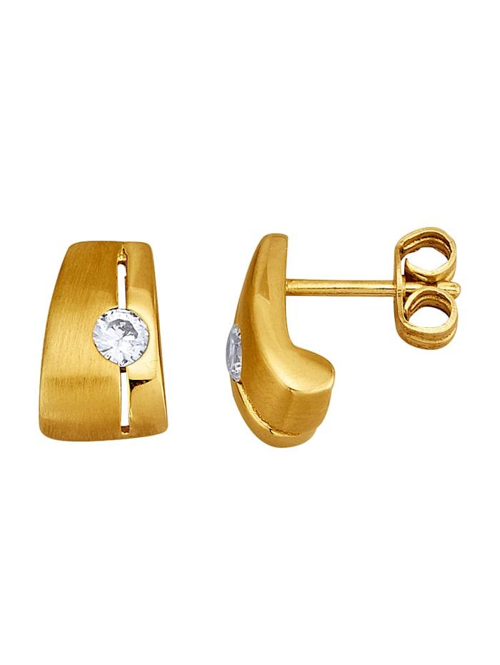 Golden Style Oorstekers, Geelgoudkleur