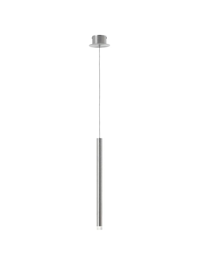 Brilliant Cembalo LED Pendelleuchte 1flg alu, alu