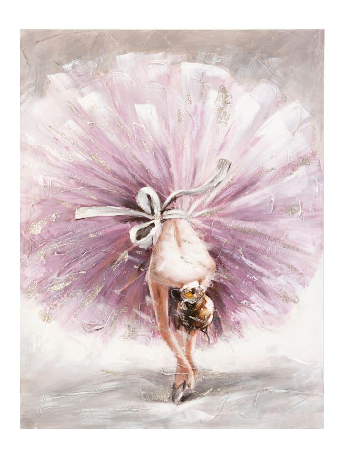 MARAVILLA Bild, Ballerina, rosé/grau