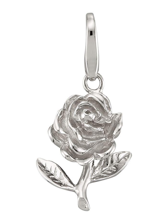 Atelier Imperial Sisi Berlock – ros i silver 925, Silverfärgad