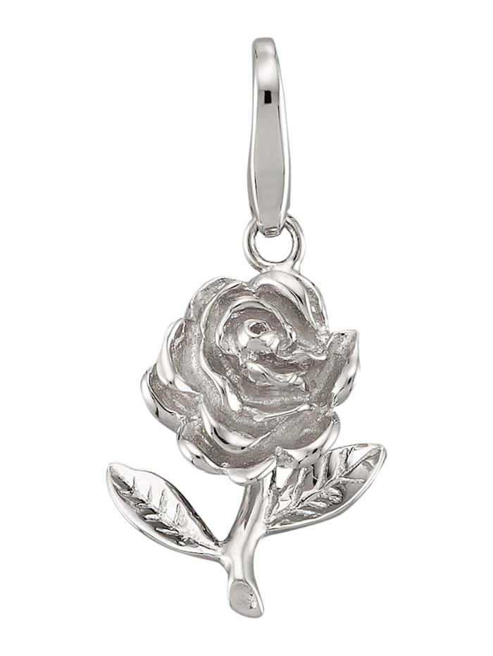 Atelier Imperial Sisi Hopeinen ruusuriipus, Hopeanvärinen
