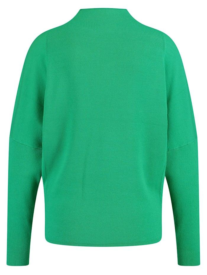 Pullover mit Rippstrick-Details