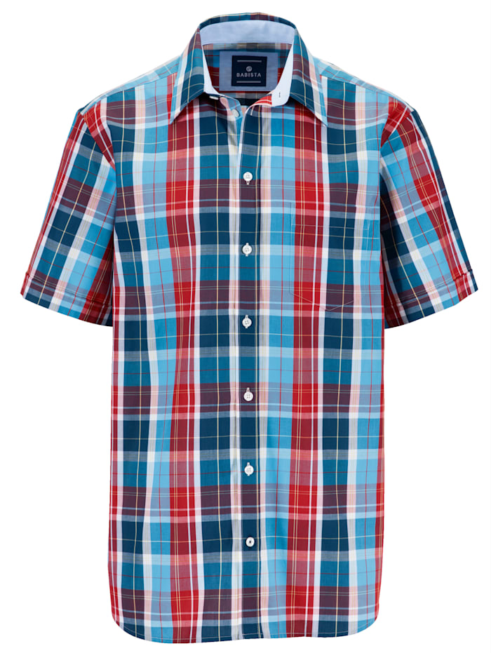 BABISTA Hemd mit 1 Brusttasche, Rot