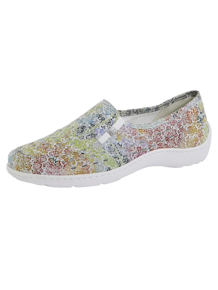 Waldläufer Slip-on shoes with cutout detailing, Multi
