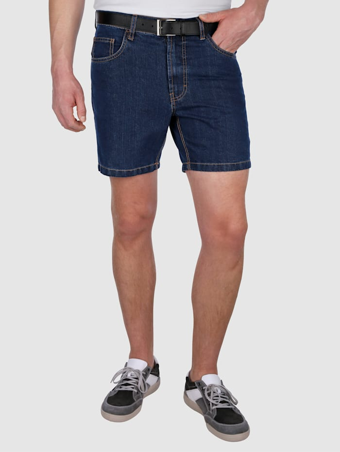 Short en jean de coupe 5 poches