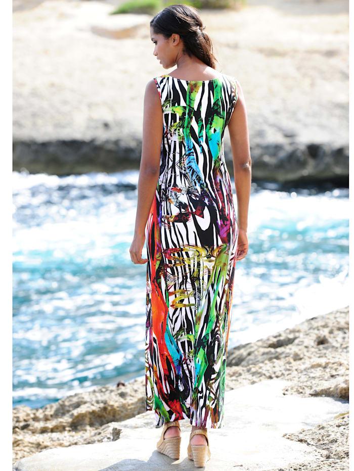 Strandkleid mit großzügigem Ausschnitt