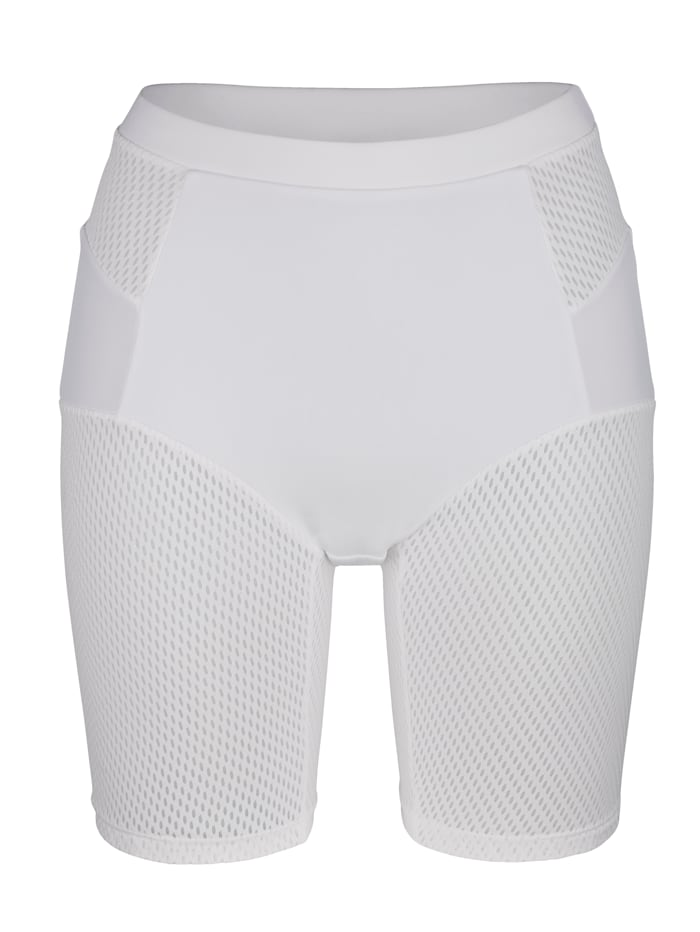 Dessous Dessus Tvarující kalhotky s klima póry, Bílá