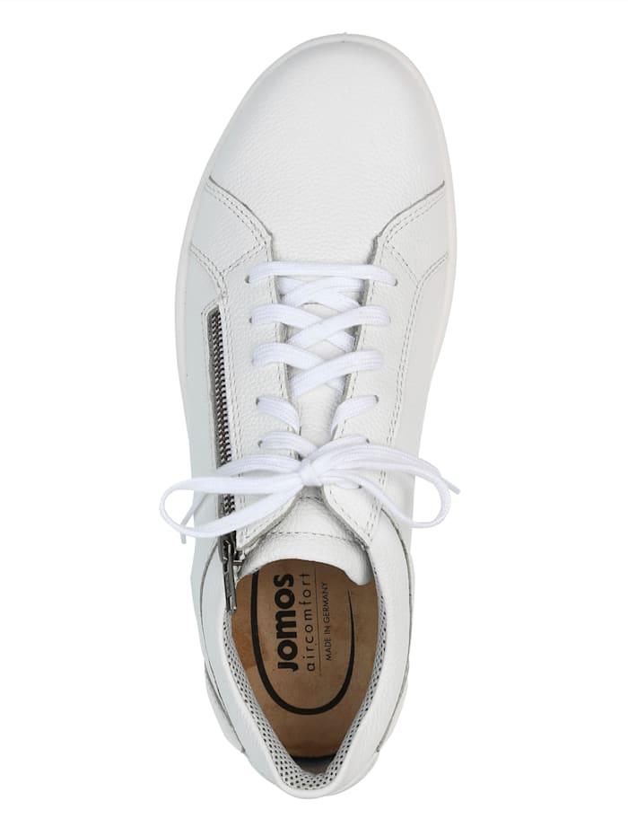 Šněrovací obuv s bočním zipem