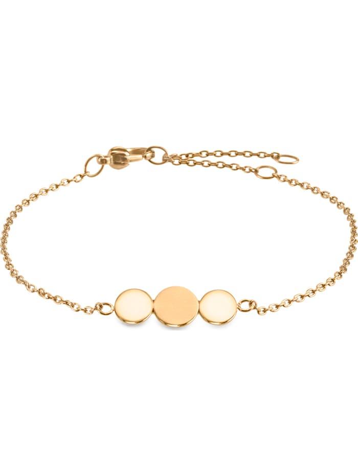 Boccia Boccia Damen-Armband Titan, gelbgold