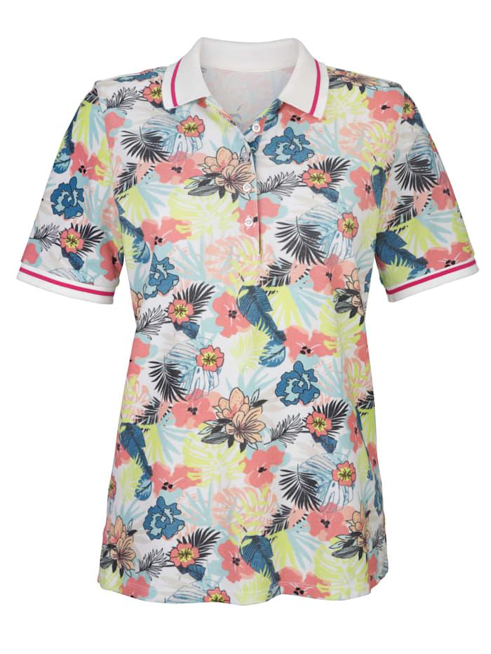 Shirt met bloemenprint