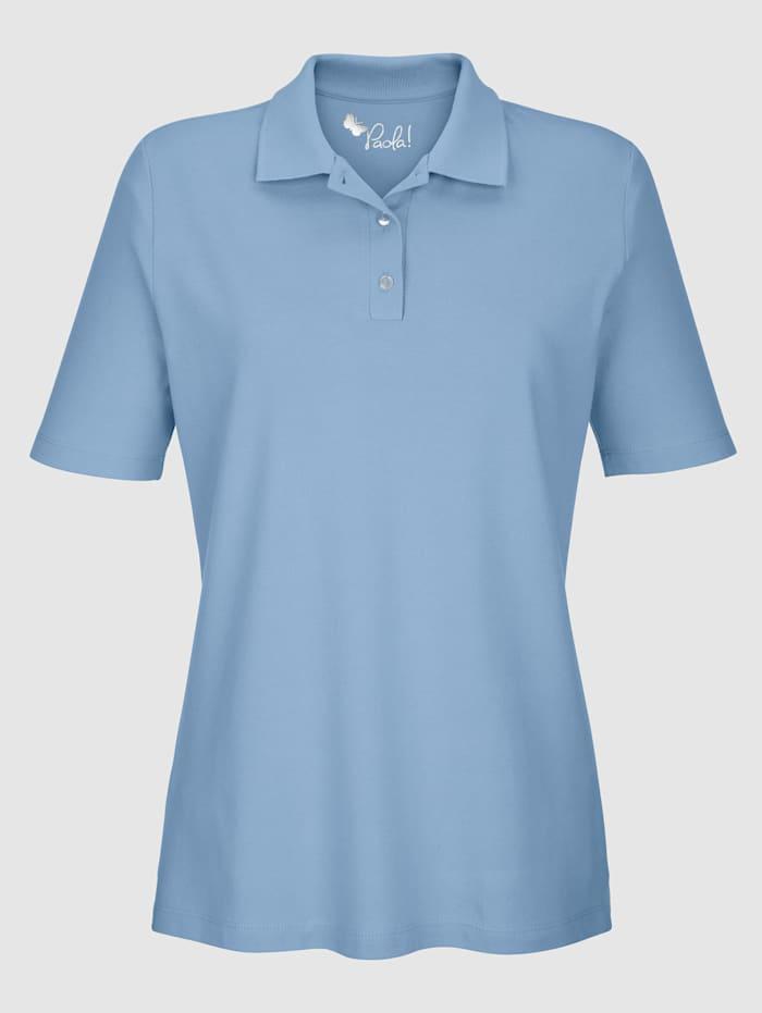 Poloshirt in reiner Baumwollqualität