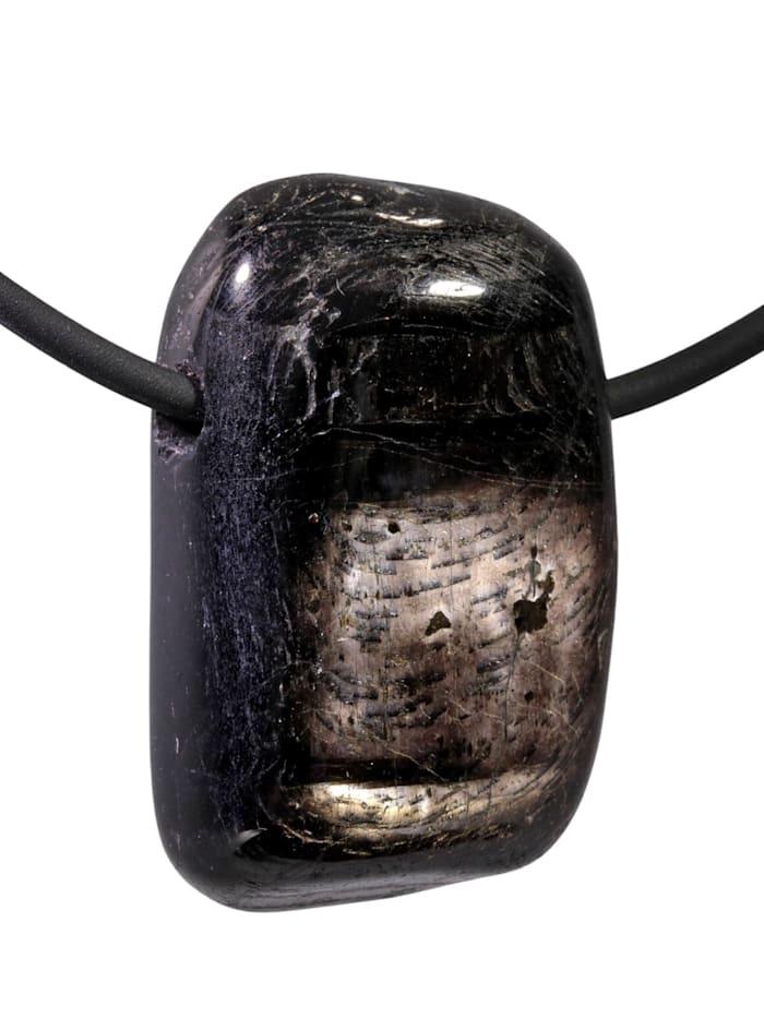 1001 Diamonds Hypersthen Anhänger, schwarz