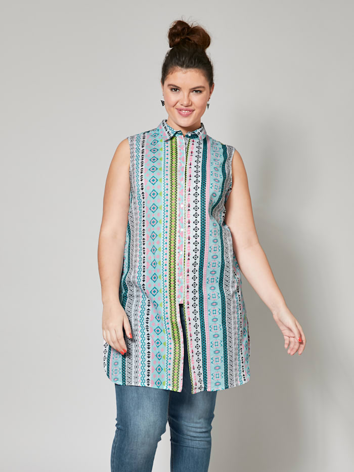 Angel of Style Longbluse, Multicolor