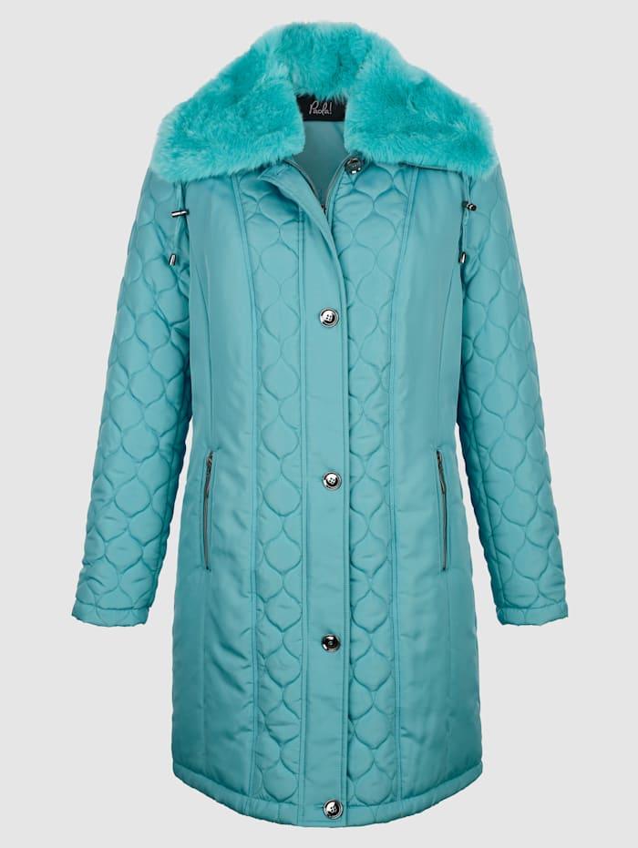 Manteau court chaudement ouatiné