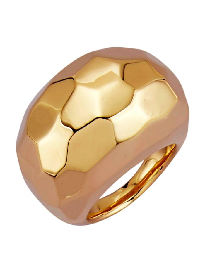 Amara Gold Damenring in Gelbgold 750, Gelbgoldfarben