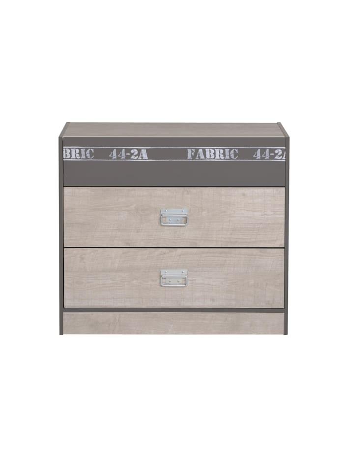 "Kommode Sideboard ""Fabric 7"" Esche-grau"