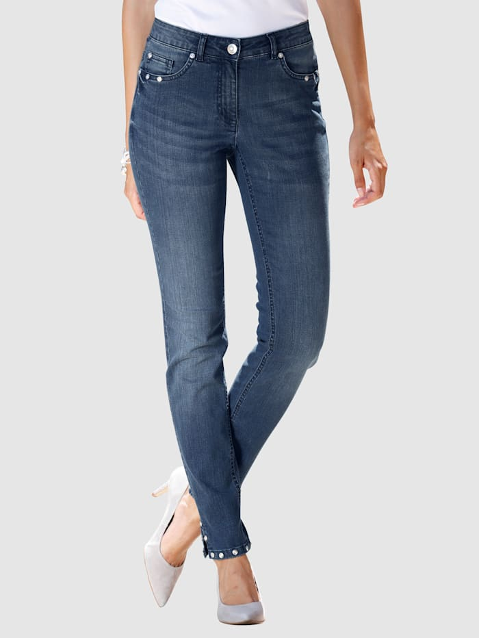 Jeans Laura Extra Slim - mit Schmucknieten