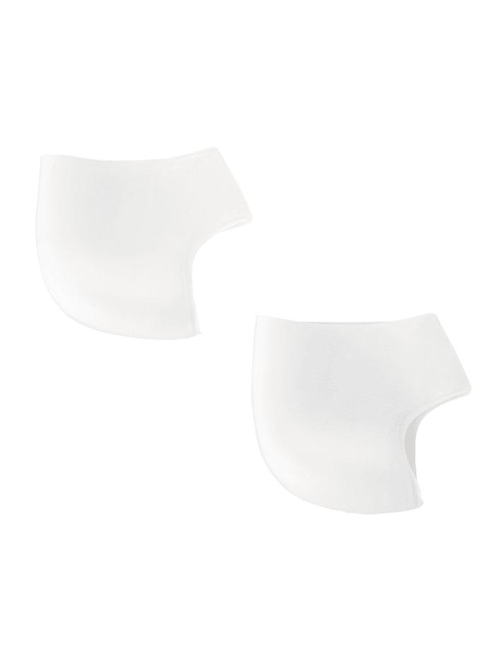Coussinets pour talon en silicone 2 pièces