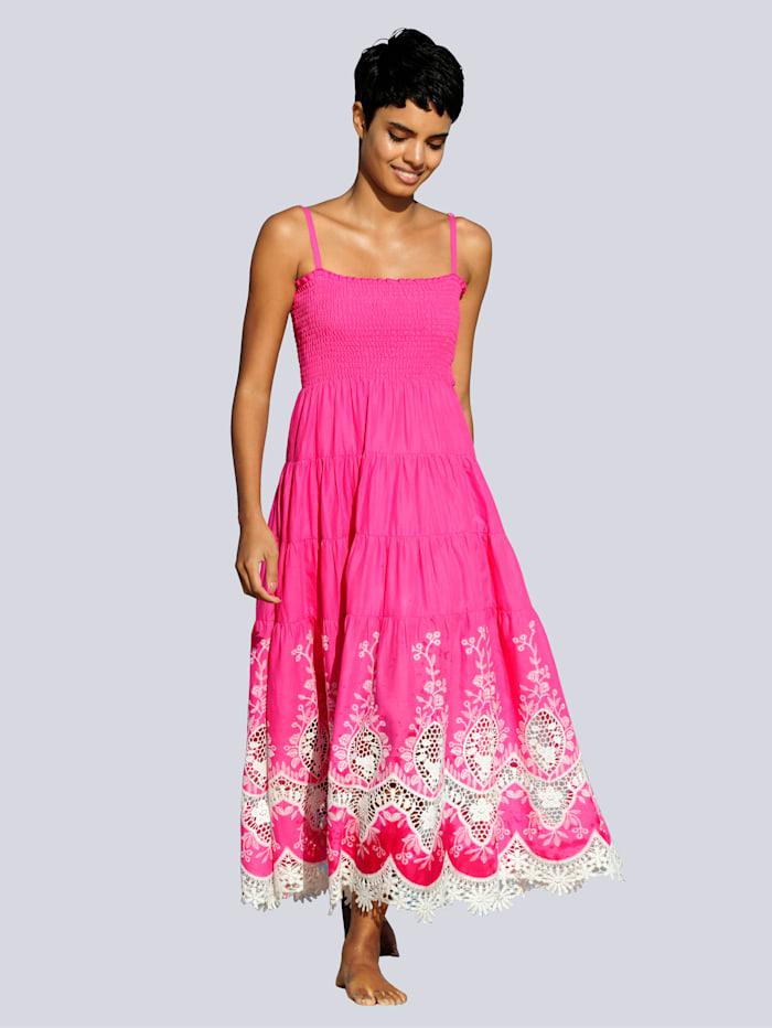 Alba Moda Strandkleid in Bandeauform, Pink