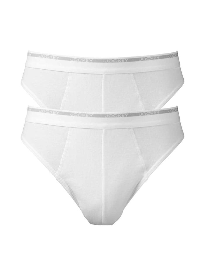 Jockey Slip 2-Pack, White