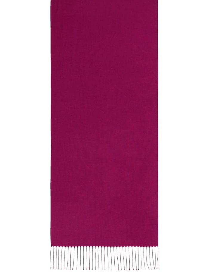 Sjaal met modieuze franjes