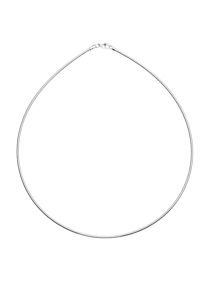 OSTSEE-SCHMUCK Halsreif - Omega 1,2 mm - Silber 925/000 -, silber