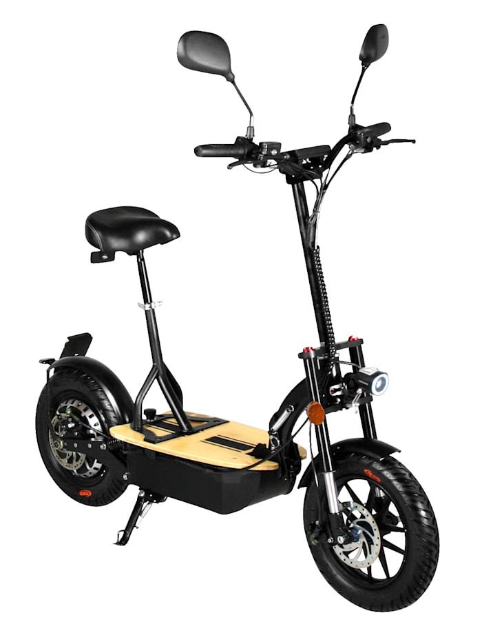 """FORCA DIDI THURAU EDITION Elektroroller """"Eco-Tourer Speed"""" 45 km/h, Safety Plus, schwarz"""