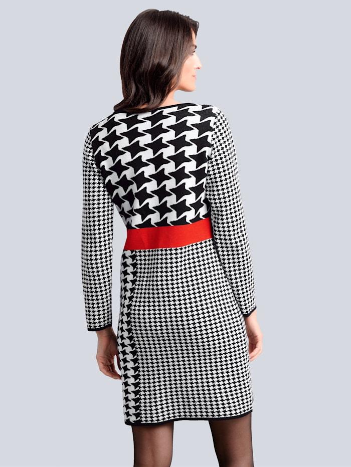 Kleid im exklusiven Dessin von Alba Moda