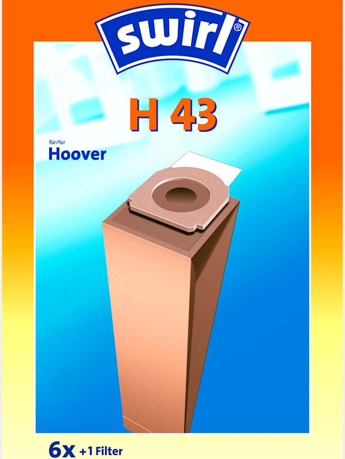 Melitta Sacs aspirateur Swirl® Staubsaugerbeutel H 43, Beige