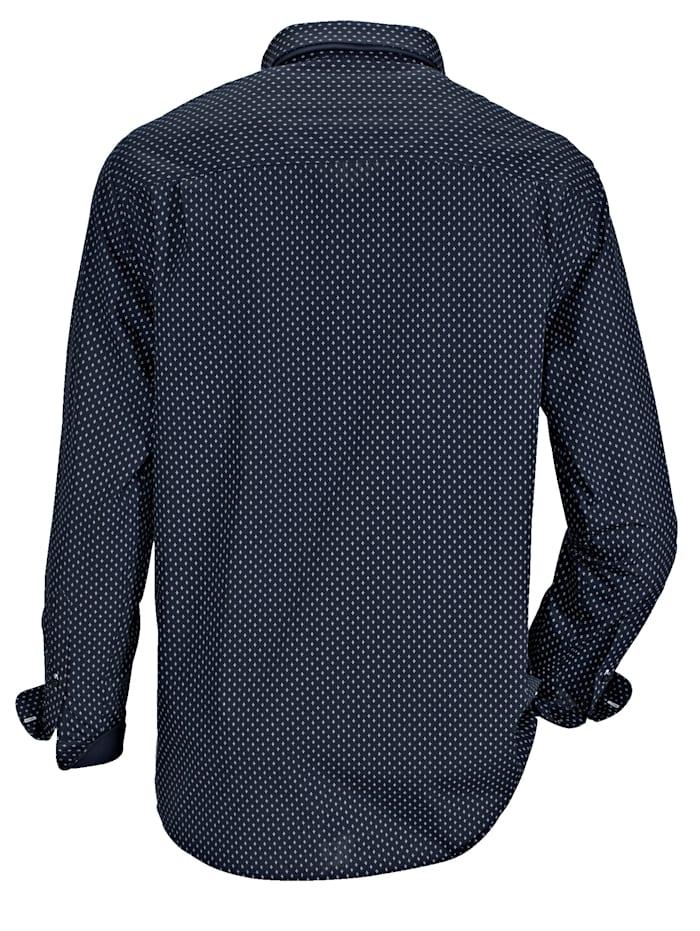 Košile s dvojitým límcem