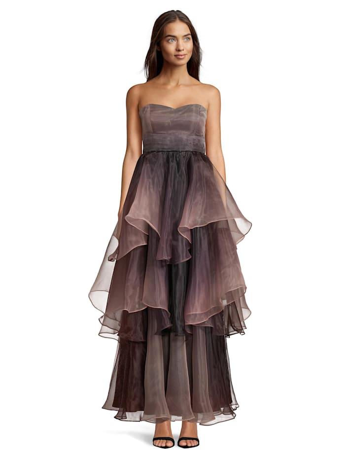 Vera Mont Abendkleid mit Farbverlauf, Grey/Rosé