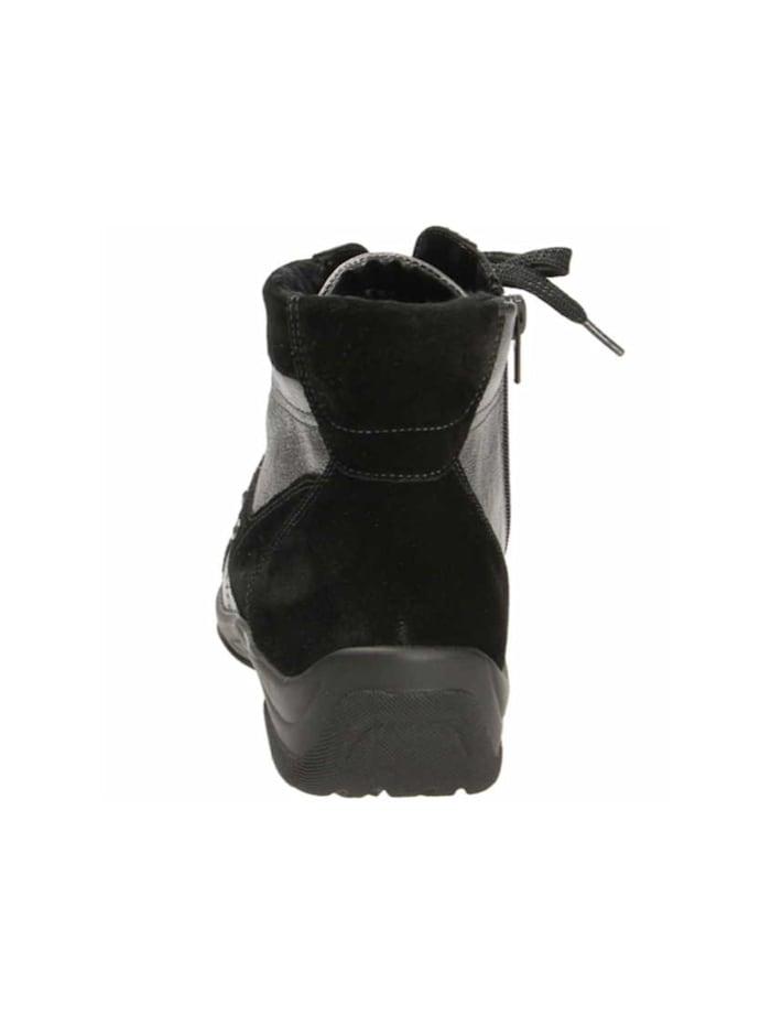 Damen Stiefelette in schwarz