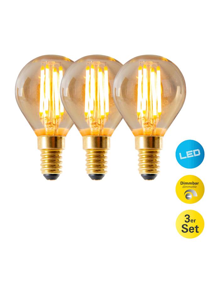 3er Set LED-Leuchtmittel E14/4W