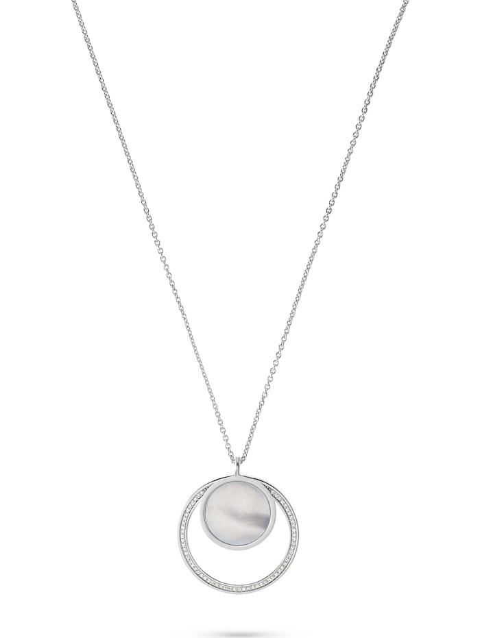 Jette JETTE Silver Damen-Kette 925er Silber 61 Zirkonia, silber