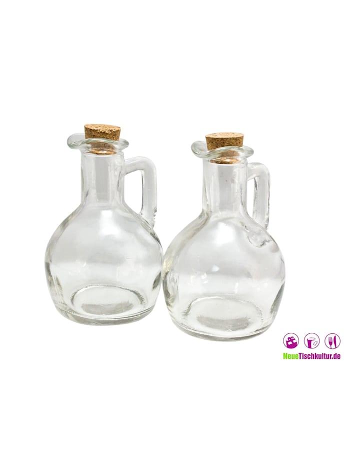 Öl-und Essigflasche 2er Set