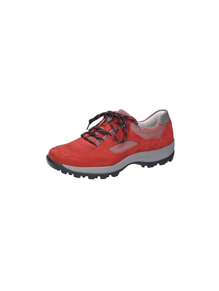 Waldläufer Schnürschuhe, rot